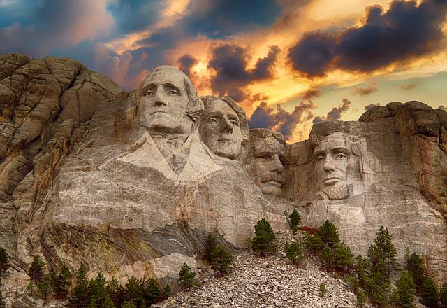 Mount Rushmore, Monument, America, President, Rushmore