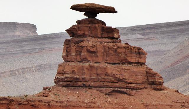 America, Hat, Mexico, Rock, Balance
