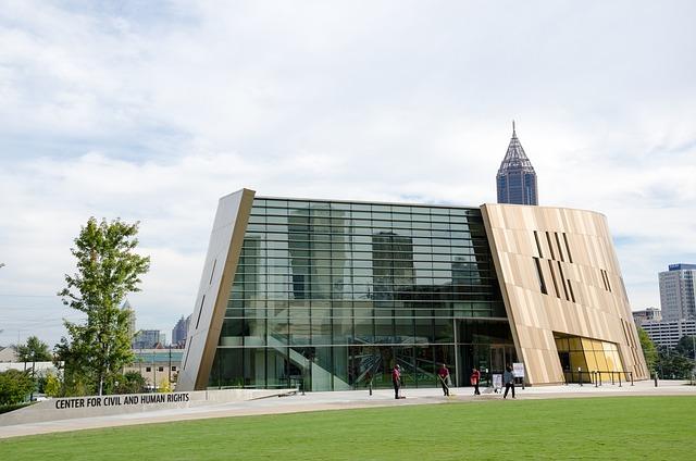 Usa, America, Building, Museum, Atlanta, Georgia