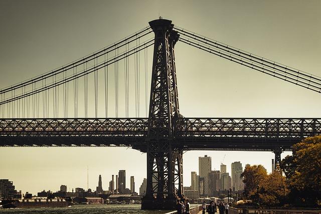 New York, Usa, America, Manhattan, Architecture