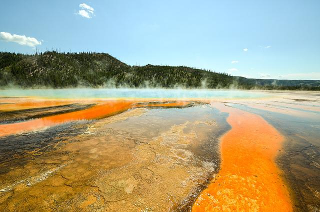 Usa, America, Yellowstone, National Park, Wyoming