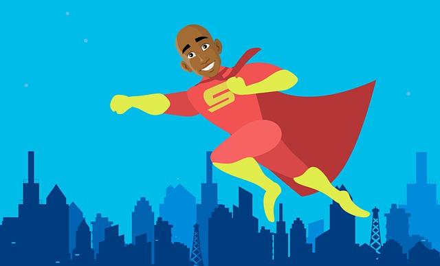 City, Superhero, Hero, African, American, Defender, Man