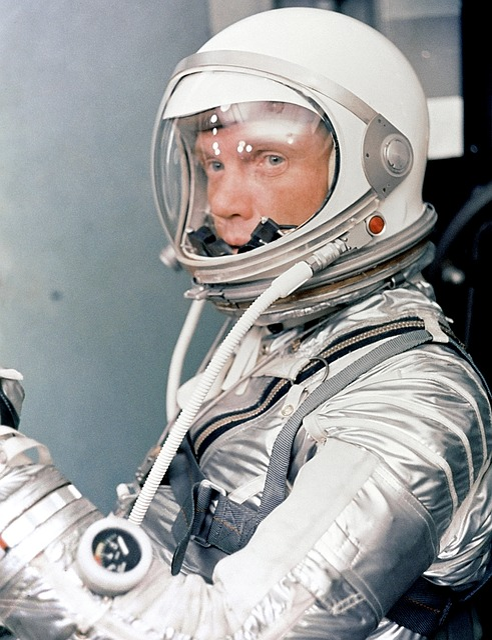 John Herschel Glenn Jr, Astronaut, American Aviator