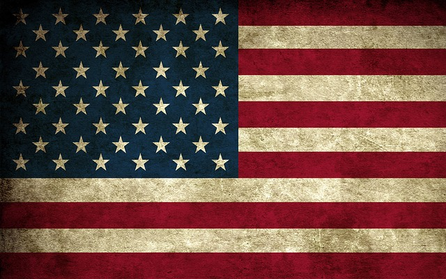 American Flag, Red White And Blue, Flag