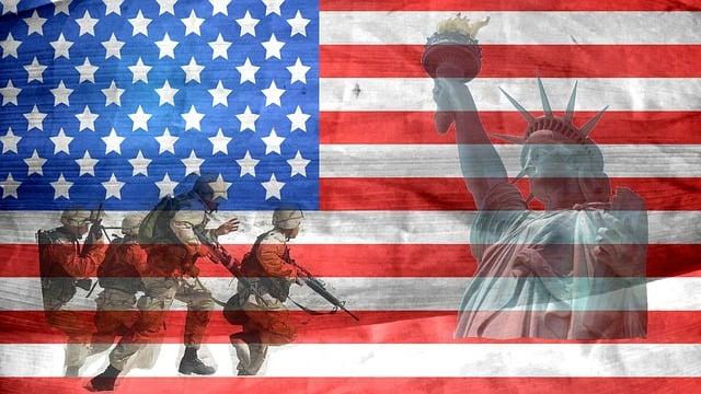Veteran, American, Independence, Pride, Flag, Military
