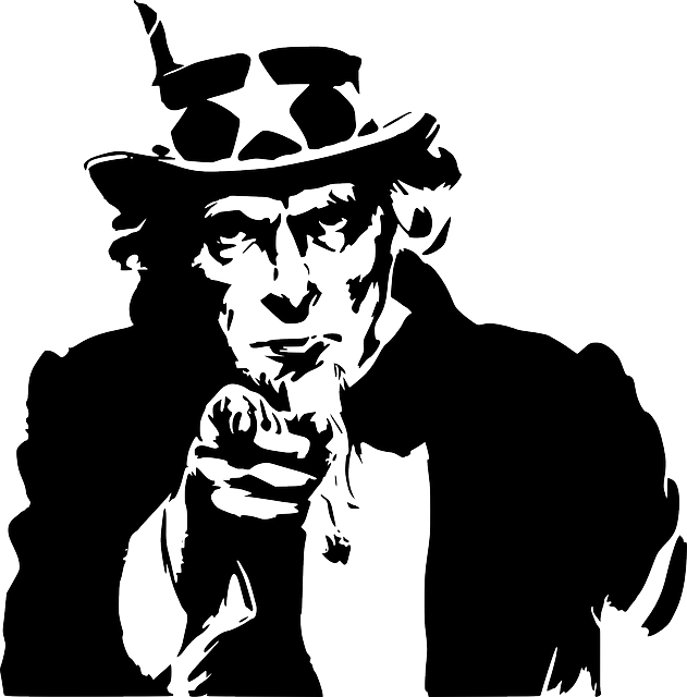 Uncle Sam, Government, Symbol, America, American, Man