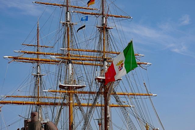Sailing Vessel, Sail Training Ship, Amerigo Vespucci