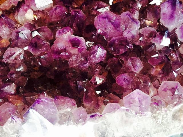 Crystal, Amethyst, Purple, Mineral, Gem, Stone