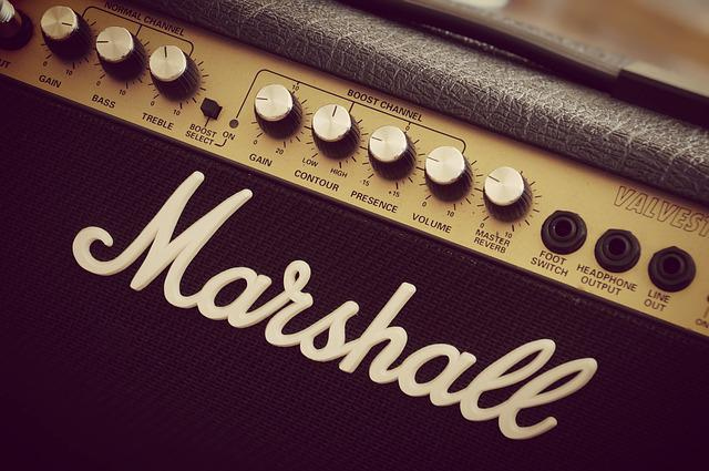 Marshall, Amplifier, Guitar, Electric Guitar, Amp