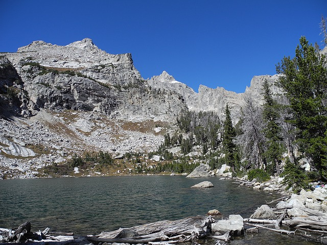 Amphitheater Lake, Grand Teton, National Park