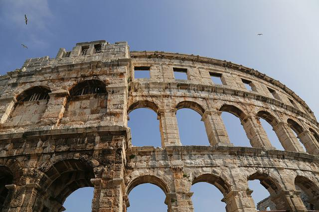 Amphitheater, Colosseum, Ancient, Stadium, Architecture
