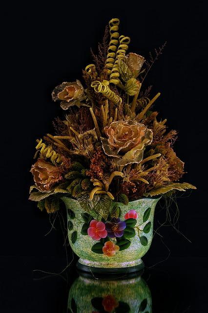 Flowers, Vase, Flower, Vases, Amphorae, Rose, Petals