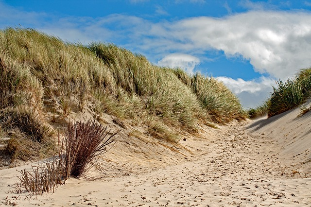 Dune, Amrum, Island, North Sea, Sky, Holiday, Clouds