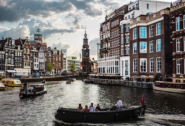 Boat, Tourist, Trip, Tourism, Amsterdam, City