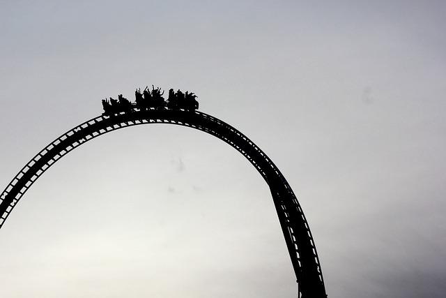 Roller Coaster, Games, Amusement Park, Fun, Ventura