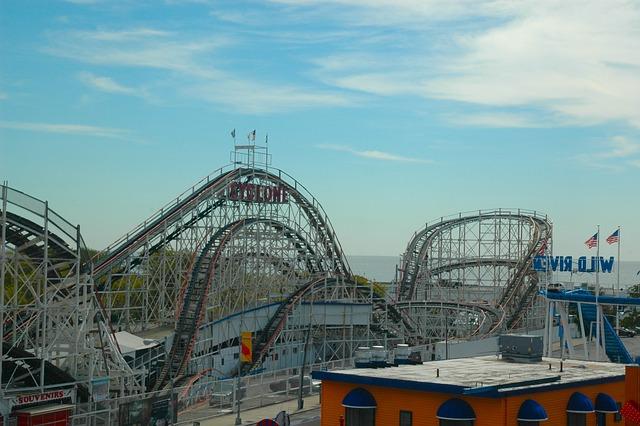 Roller Coaster, Theme Park, Amusement Park, Fun