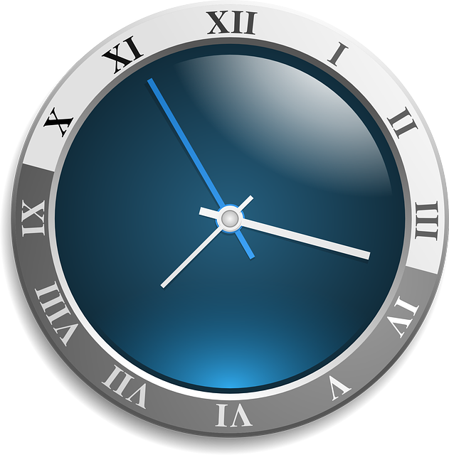 Clock, Analog, Face, Blue, Time, Timer, Ticking, Hands