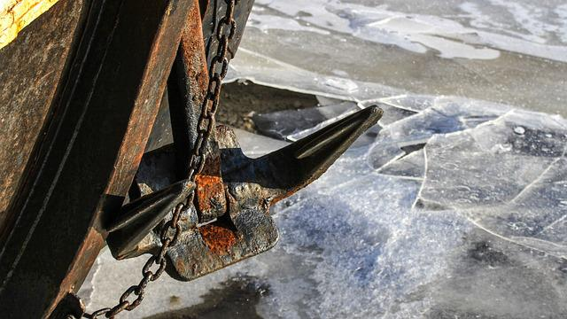Anchor, Bug, Rusty, Ship Accessories, Port, Shipping