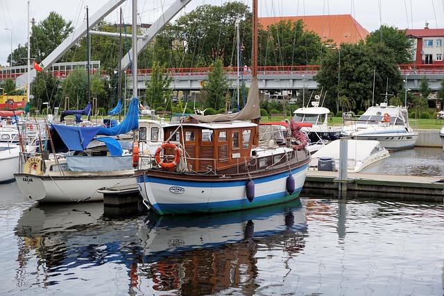 Ship, Anchorage, Boats, Port, Water, Sailing Boat