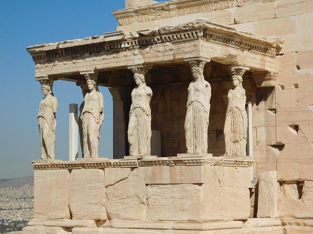 Acropolis, Marble, Parthenon, Greece, Ancient, Monument
