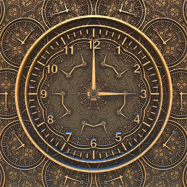 Ancient Clock, Time, Ancient, Clock, Antique
