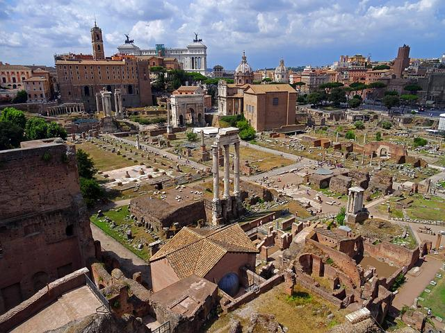 Rome, Italy, Antique, Roman Forum, Ancient Architecture
