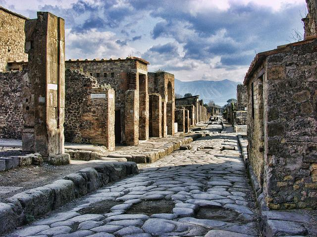 Pompeii, Italy, Roman, Ancient, Travel, Architecture