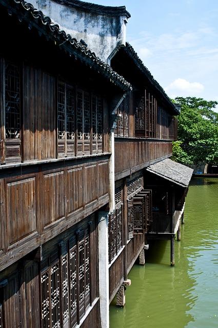 Wuzhen, Watertown, Building, Ancient Architecture