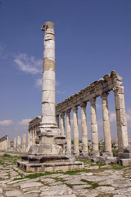 Aphamia, Byzantisch, Syria, Ancient Cities