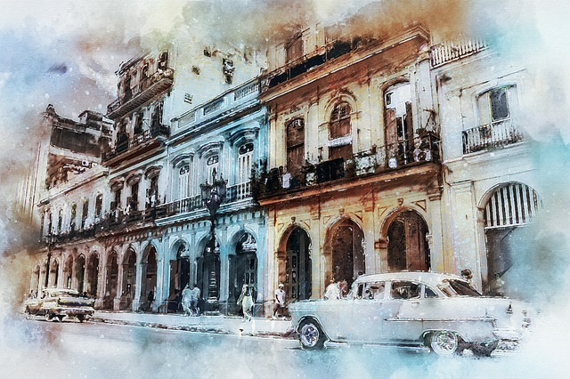 Cuba, Havana, Old, Ancient, Buildings, Architecture