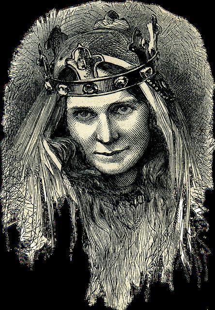 Celtic Queen, Celts, Ancient People, Illustration