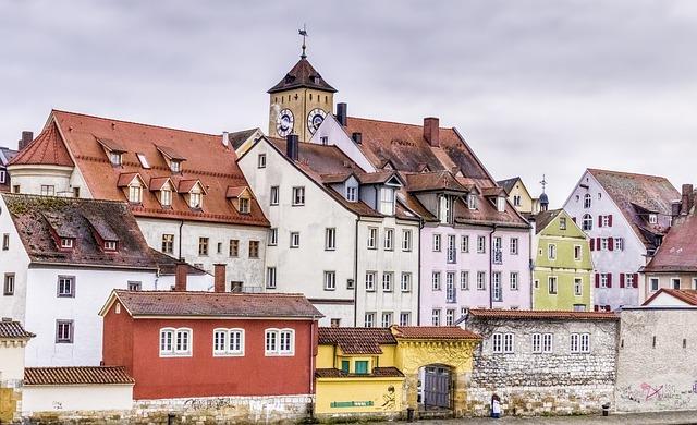 Regensburg, Middle Ages, Ancient, Past, Architecture