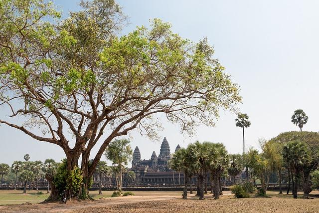 Angkor Wat, Temple, Siem Reap, Cambodia, Ancient