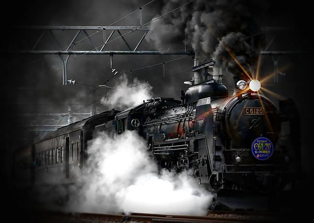 Steam Train, Locomotive, Ancient, Train, Old, Transport