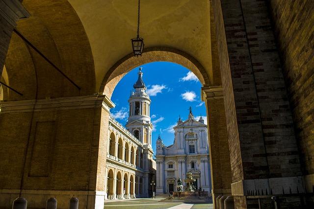 The Basilica Of Loreto, Ancon, The Holy House Of Loreto