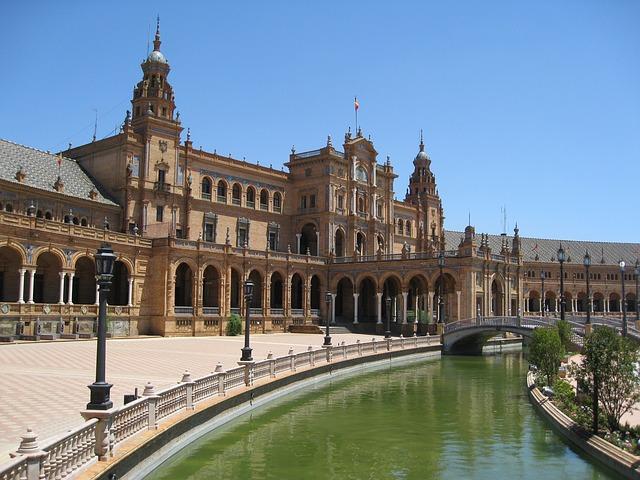 Plaza De Espania, Andalucia, Seville