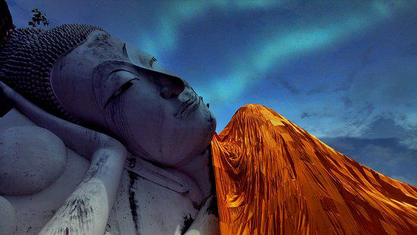 Reclining Buddha, Wat Khun Inthapramun, Ang Thong