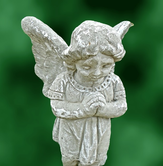 Sculpture, Angel, Statue, Stone, Art, Religion, Symbol
