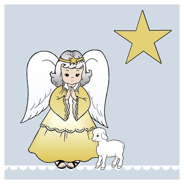 Christmas Card, Christmas, Angel