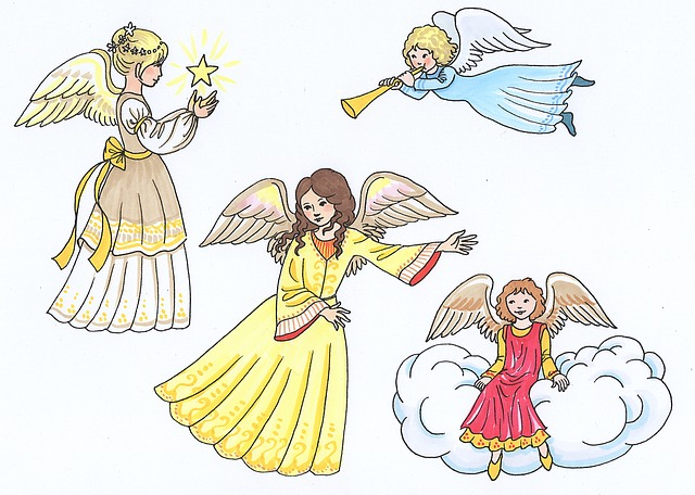 Angel, Little Angel, Cute, Christmas, Guardian Angel