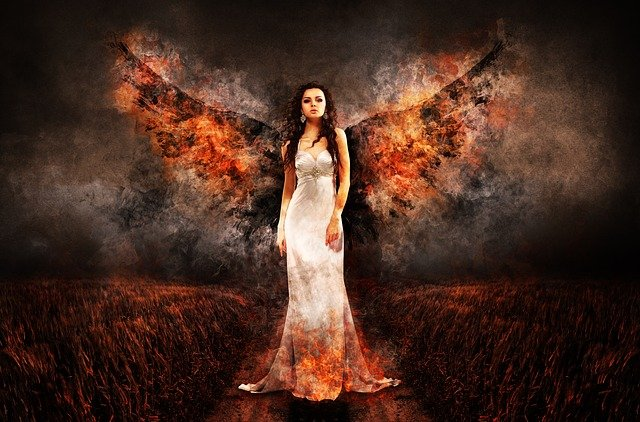 Angel, Woman, Wing, Female, Angel Face, Sad, Scene