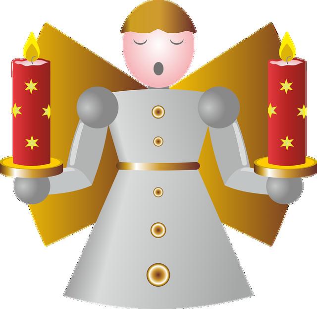 Angel, Fig, Christmas Figure, Christmas Decoration