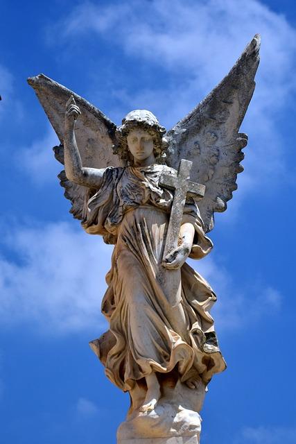 Angel, Sky, Wing, Guardian Angel, Heavenly, Figure