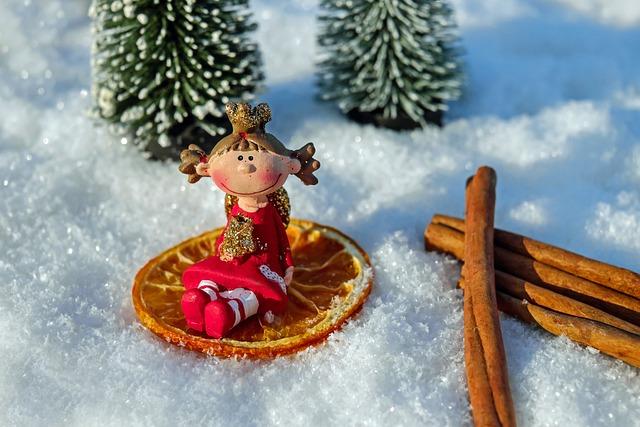 Christmas Angel, Figure, Angel, Funny, Sweet, Sitting