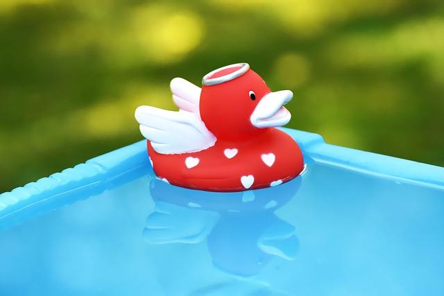 Rubber Duck, Angel, Quietscheente, Toys, Squeak Duck