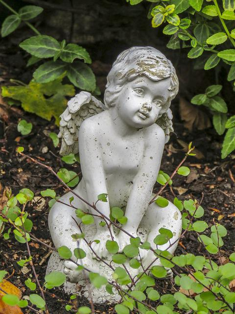Statue, Angel, Stone, Religion, Sculpture, Culture