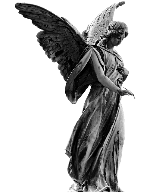 Angel, Statue, Angel Figure, Wing, Sweet, Mourning