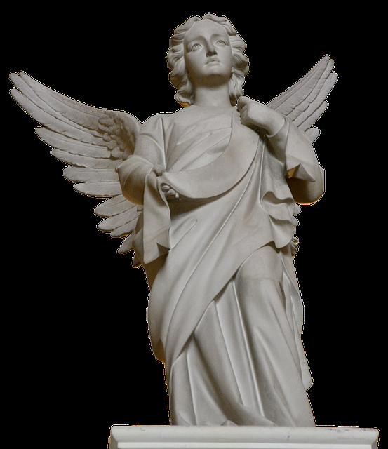 Angel, Sculpture, Wing, Stone, Art, Cemetery, Figure
