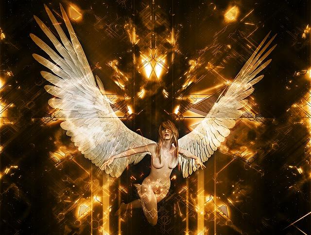 Angel, Heaven, Matrix, Mystical, Angelic, Symbolic