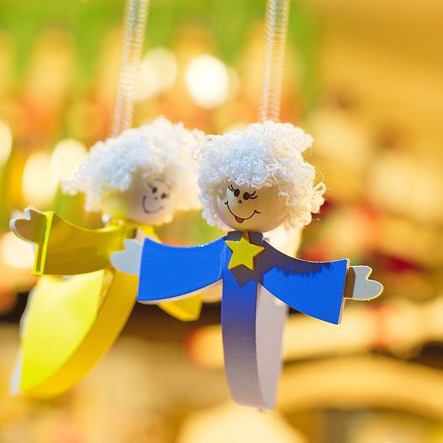 Angels, Wooden Toys, Christmas, Wooden Angels